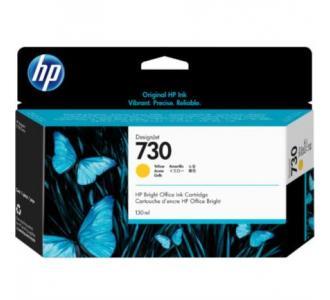 Tinta HP DesignJet 730 130ml Color Amarillo