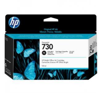 Tinta HP DesignJet 730 130ml Color Negro Fotográfico