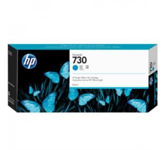 Tinta HP DesignJet 730 300ml Color Cian