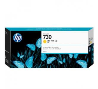 Tinta HP DesignJet 730 300ml Color Amarillo