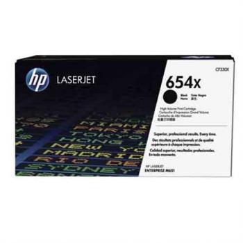 Cartucho de Tóner Original HP 654X LaserJet de Alta Capacidad Negro