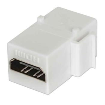 Cople Intellinet Tipo Keystone HDMI H-H Color Blanco