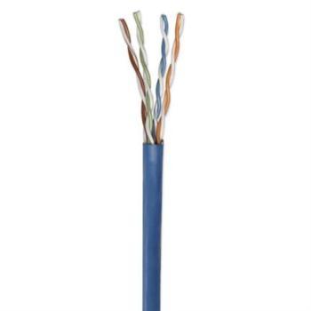Bobina Cable Intellinet Cat 5e CCA UTP 305m Sólida Color Azul