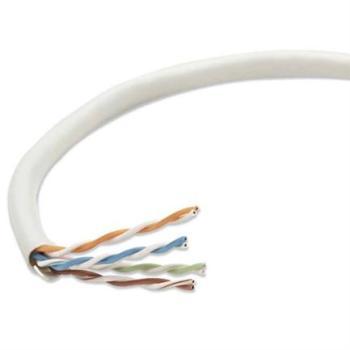 Bobina Cable Intellinet Cat 5e CCA UTP 305m Sólida Color Gris