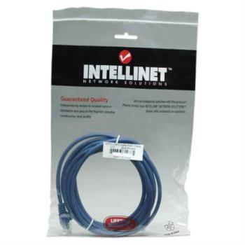 Cable Intellinet Pacth de Red Cat5e UTP RJ45 M-M 4.2m Color Azul