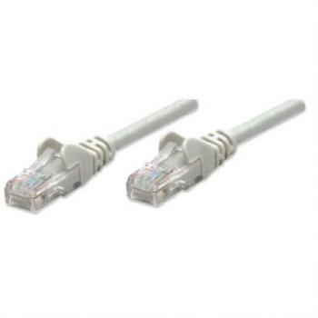 Cable Intellinet Patch para Red Cat5e UTP PyMe RJ45 M-M 3m Color Gris