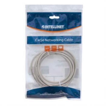 Cable Intellinet Red Cat6 UTP RJ45 M-M 0.15m Color Gris