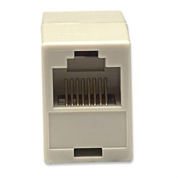 Cople Intellinet RJ45 Cat 5e Modular Hembra-Hembra Color Beige