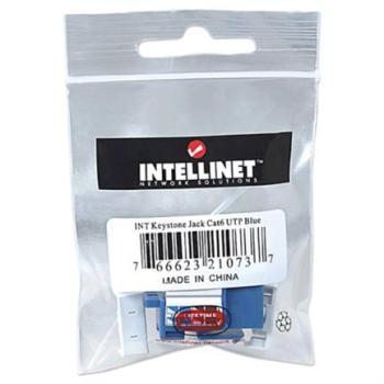 Jack Intellinet Cat 6de Impacto(Keystone) Color Azul