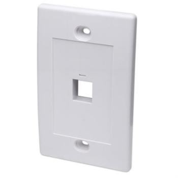 Tapa Intellinet para Caja 1 Perforación Color Blanco