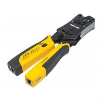 Pinza Intellinet Crimpeadora Universal para Plugs Modulares y Probador de Cables