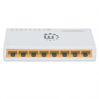 Switch Intellinet GB 8 Puertos MH Color Blanco