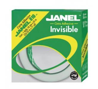Cinta Janel Adhesiva Invisible 810 Individual 18mmx65m en Bolsa