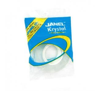 Cinta Janel Adhesiva Krystal 120 012x33m