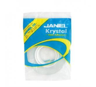 Cinta Janel Adhesiva Krystal 120 018x33m
