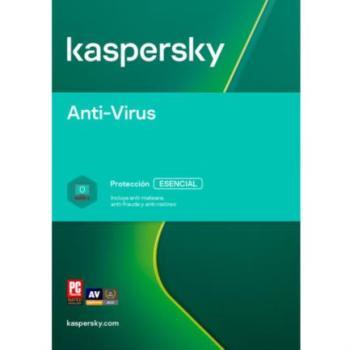 TMKS-186 KASPERSKY ANTI-VIRUS 3 USUARIOS 1 AÑO