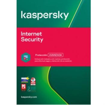 TMKS-189 KASPERSKY INTERNET SECURITY 5 DIS 1 AÑO
