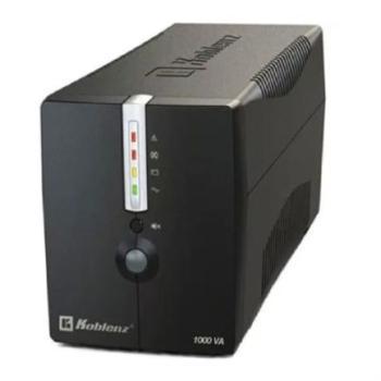 Regulador Koblenz 10017 NoBreak USB/R 1000VA/500 Respaldo 60 Minutos 8 Contactos Garantía 3 Años
