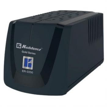Regulador Koblenz ER-2250 2250VA/1000W 8 Contactos 1LED Garantía 5 Años