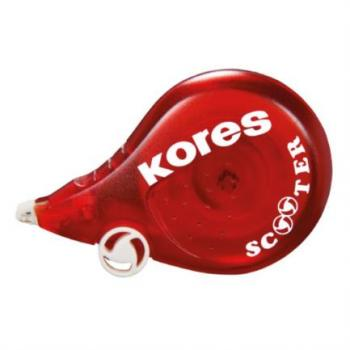 Corrector Kores Scooter Tipo Cinta 8m x 4.2mm Blister