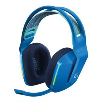 Audífonos Logitech G733 LIGHTSPEED Gaming Inalámbricos RGB Color Azul