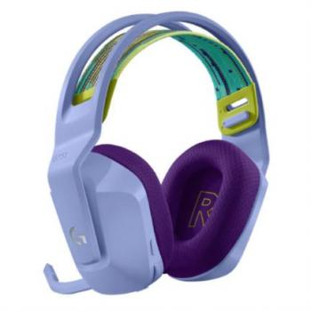 Audífonos Logitech G733 LIGHTSPEED Gaming Inalámbricos RGB Color Lila