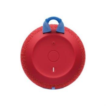 Bocina Logitech WonderBoom 2.0 Bluetooth Resistente al Agua Color Rojo