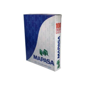 Folders Mapasa Carta Color Crema C/100