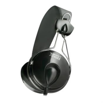 AUDIFONOS PERFECT CHOICE ON-EAR ESTEREO C/MICROFONO 3.5MM