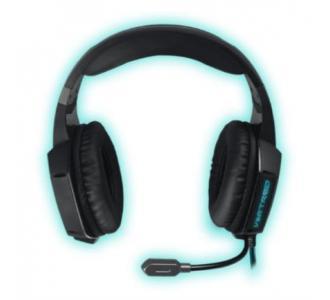 Audífonos Vortred Gamer 7.1 Assault Sonido Envolvente Color Negro