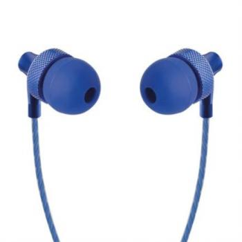 AUDIFONOS PERFECT CHOICE IN EAR C/MICROFONO STRETTO AZUL