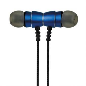 AUDIFONOS PERFECT CHOICE BT INALAMBRICOS AZUL.