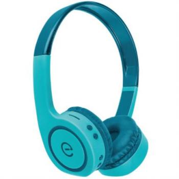 Audífonos Perfect Choice Easy Line On-Ear Bluetooth Radio FM Lector Tarjeta MicroSD Color Verde