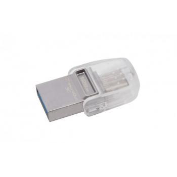 MEMORIA FLASH KINGSTON 128 GB MICRODUO 3C USB 3.1 (DTDUO3C/128GB)