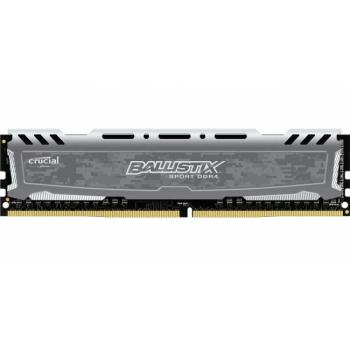 MEM DDR4 CRUCIAL BALLISTIX SPORT LT GRIS 8GB 2666MHZ BLS8G4D26BFSBK