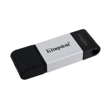MEMORIA FLASH KINGSTON 128 GB USB-C 3.2 GEN 1 (DT80/128GB)