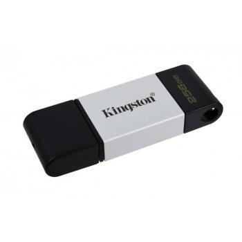 MEMORIA FLASH KINGSTON 256 GB USB-C 3.2 GEN 1 (DT80/256GB)