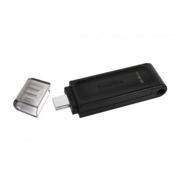 MEMORIA FLASH KINGSTON 64 GB USB-C 3.2 GEN 1 (DT70/64GB)