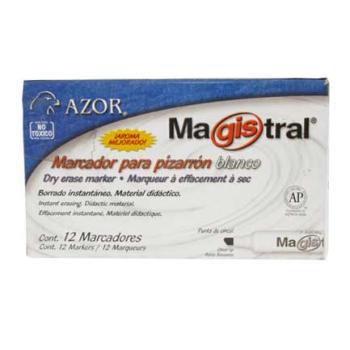 MARCADOR MAGISTRAL 83406 NARANJA PARA PIZARRON C/12