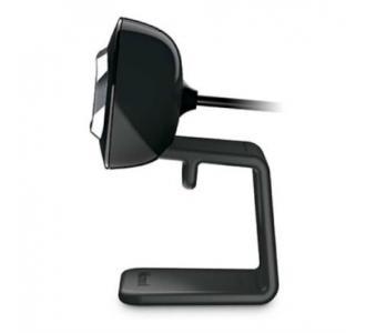 Cámara Web Microsoft LifeCam HD-3000 HD 720p Panorámica Color Negro