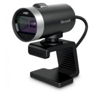Cámara Web Microsoft LifeCam Cinema HD 720p USB Color Negro