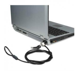 Candado Manhattan Seguridad para Laptop C/Llave 1.8m Color Negro