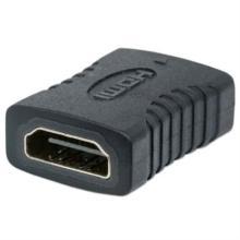 Cople Manhattan HDMI A H-H Conexión Recta Color Negro