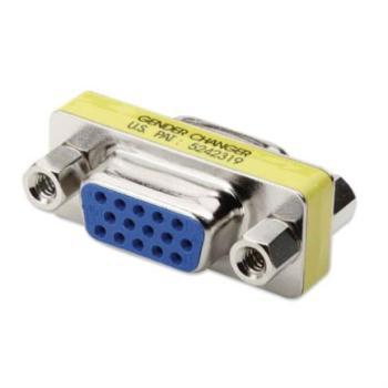 Adaptador Manhattan Cambiador Género Mini VGA HD15 H-H