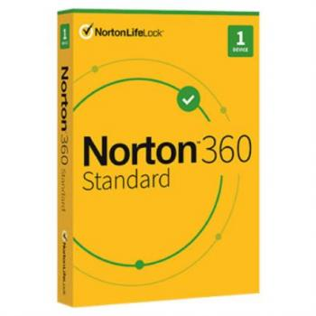 Licencia Antivirus Norton 360 Standard/Internet Security 1 Año 1 Dispositivo Caja