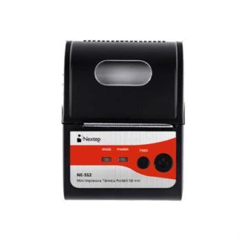 Mini Impresora Térmica Portátil Nextep 58mm USB Bluetooth