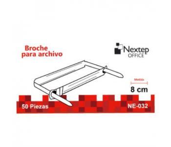 Broche Nextep No.8 cm C/50 Pzas