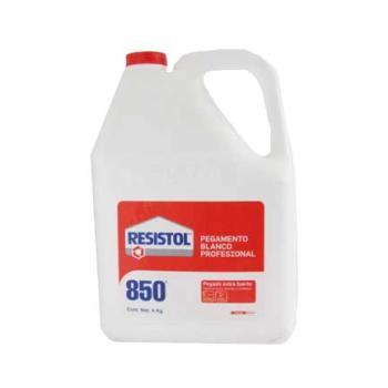 PEGAMENTO BLANCO RESISTOL 850 4 KG