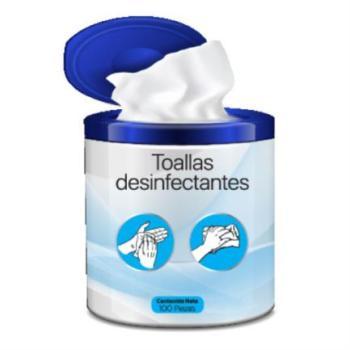 Toallas Desinfectantes Prolicom C/100 Pzas