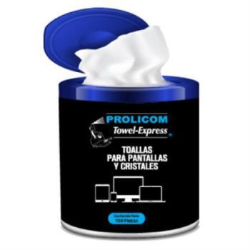Toallas Antiestática Prolicom Towel Express C/100 Pzas